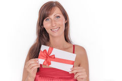 Gift for you Stock Photo