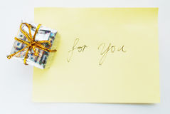 Gift for you2 Royalty Free Stock Photos