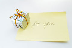 Gift for you2 Royalty Free Stock Image