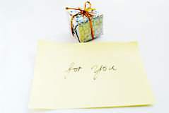 Gift for you2 Stock Photo