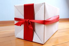 Gift in your house for holidays Stock Photo