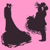 Gifta sig älska par Royaltyfri Bild