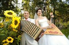 Gifta sig royaltyfri foto
