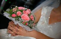 Gifta sig royaltyfria bilder