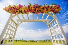 Gifta sig bågen Royaltyfri Foto