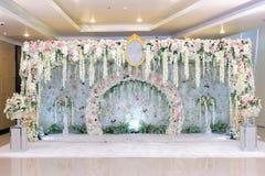 Gifta sig bågen och att gifta sig bakgrund Royaltyfria Foton