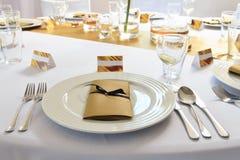 Gifta sig bankett Fotografering för Bildbyråer