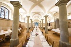 Gifta sig bankett i en restaurang Royaltyfria Foton