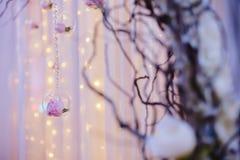 Gifta sig blommabrudbuketten Royaltyfri Fotografi