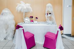Gifta sig blommabrudbuketten Royaltyfri Bild