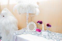 Gifta sig blommabrudbuketten Arkivfoto