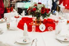 Gifta sig blommabrudbuketten Royaltyfria Bilder
