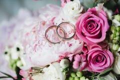 Gifta sig blommabrudcirklar Royaltyfri Fotografi