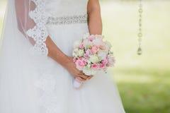 Gifta sig blommadekorcirklar Arkivfoton