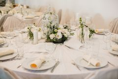 Gifta sig blommadekorcirklar Royaltyfri Fotografi