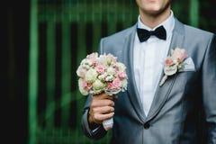 Gifta sig blommadekorcirklar Royaltyfria Bilder