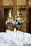 Gifta sig blommor Arkivbild