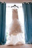 Gifta sig brud- höjdpunkt Royaltyfri Foto