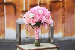 Gifta sig brud- höjdpunkt Royaltyfri Fotografi