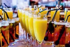 Gifta sig drinkar Royaltyfria Foton