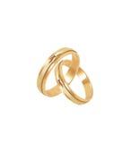 gifta sig för 2 cirklar Royaltyfri Foto