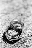 gifta sig för band Fotografering för Bildbyråer