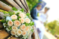 gifta sig för blommor Royaltyfria Foton