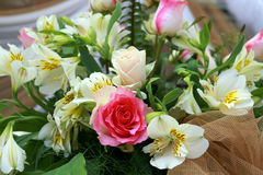 gifta sig för blommor royaltyfria bilder