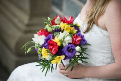 gifta sig för blommor royaltyfri foto