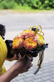 gifta sig för blommor Royaltyfri Bild