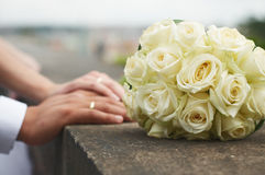 gifta sig för blommor Arkivbild
