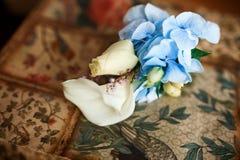 gifta sig för blommor bukett Fotografering för Bildbyråer