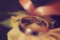gifta sig för cirkelro Royaltyfri Fotografi