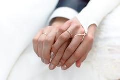 gifta sig för cirklar Arkivbild