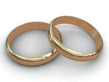 gifta sig för cirklar Royaltyfri Foto
