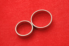 gifta sig för cirklar Royaltyfri Bild