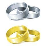 gifta sig för cirklar Fotografering för Bildbyråer