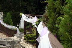 gifta sig för garneringar arkivfoto