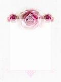 gifta sig för inbjudanro Royaltyfria Bilder