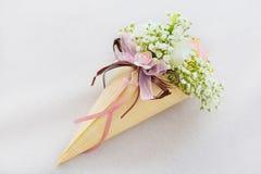 Gifta sig för kronblad för korgar rosa Royaltyfri Bild