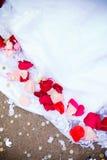 gifta sig för petals Royaltyfri Fotografi