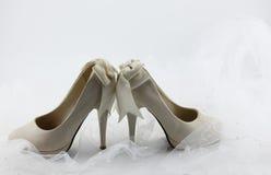 gifta sig för skor Royaltyfri Foto