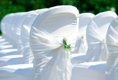 gifta sig för stolar Arkivfoto