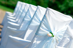 gifta sig för stolar Royaltyfri Bild