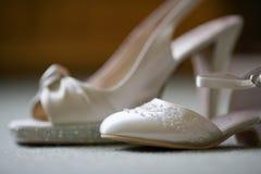 gifta sig för skor Arkivbild
