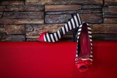 gifta sig för skor Arkivbilder