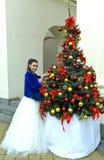Gifta sig i December Arkivfoton