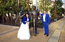 Gifta sig i December Royaltyfri Fotografi