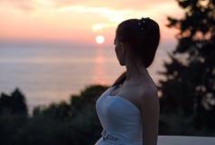 Gifta sig i December Royaltyfri Foto