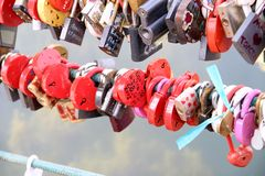 Gifta sig lås Arkivfoton